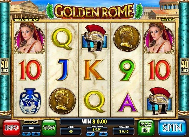 New golden rome slot