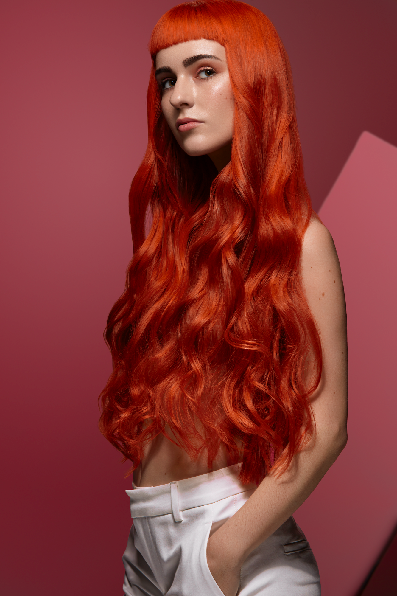 Sweet Apricot Hair Editorial For Revista Coiffure Professionnelle