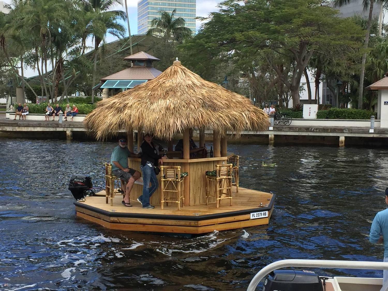 Winterfest boat paradejpg tiki bar boat bar house boat