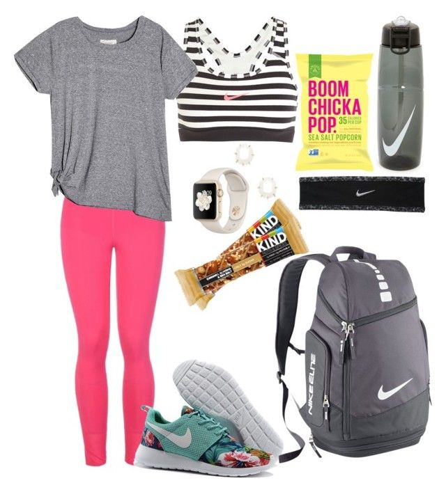 """""""Untitled #14"""" by kileyfraser on Polyvore featuring NIKE, STELLA McCARTNEY and Kendra Scott"""