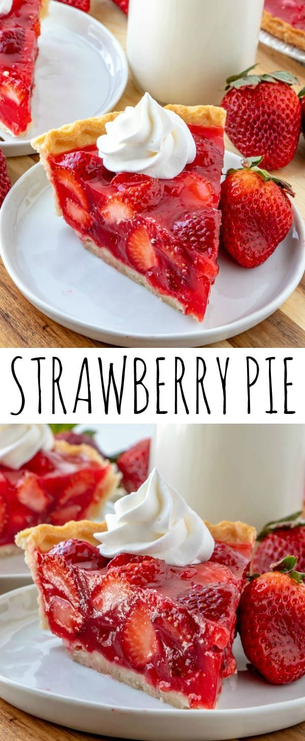 Easy, delicious and bursting with flavor this Strawberry Pie is an old-fashioned recipe that has mi