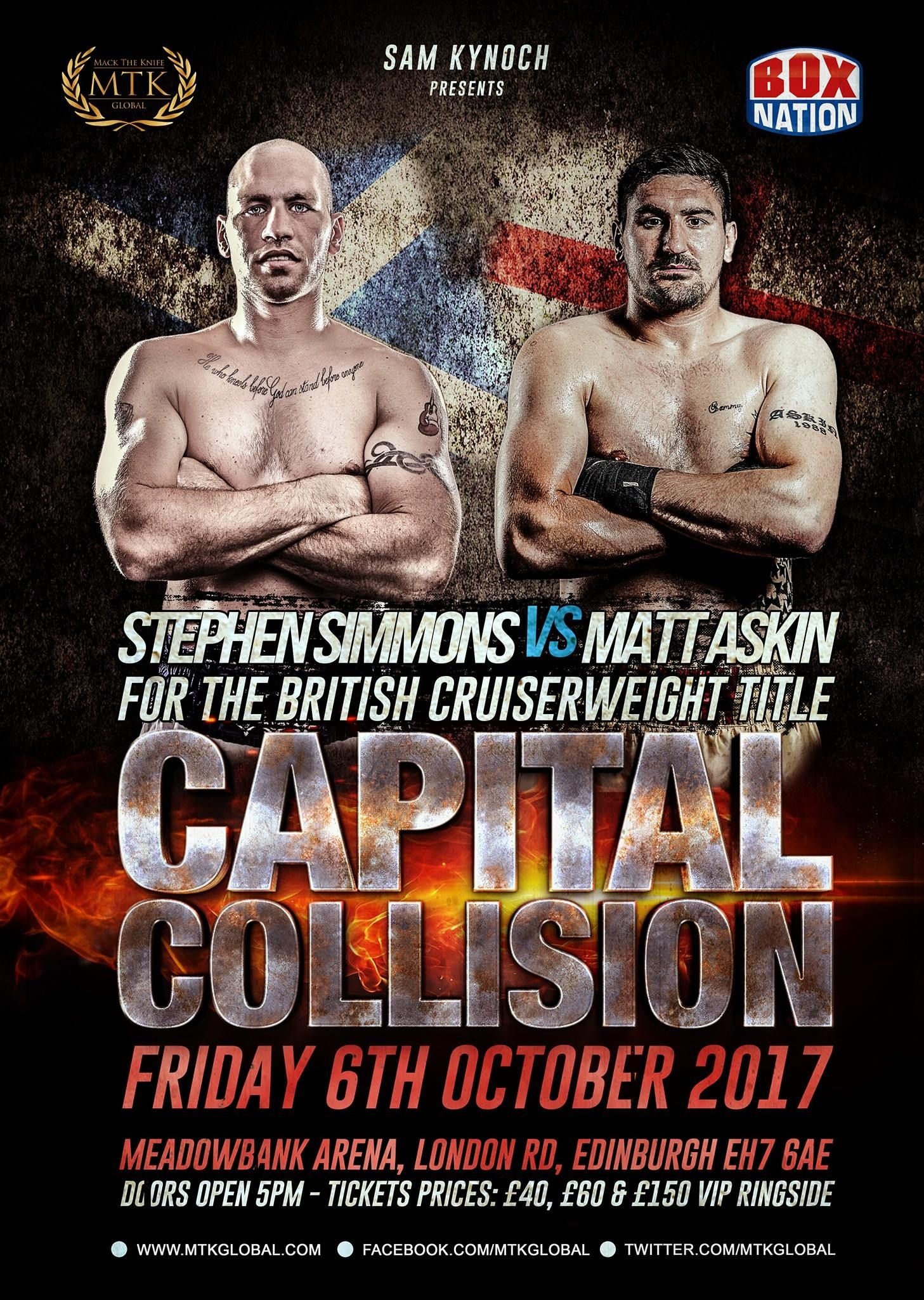 MTK Global are delighted to announce MTK Scotland's 'Capital