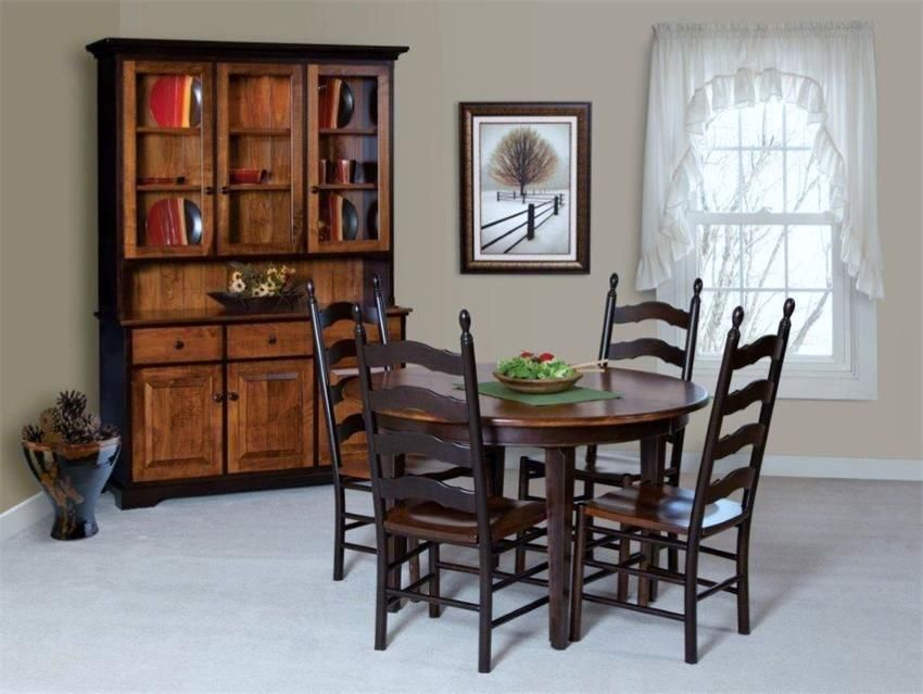 Amish French Country Ladder Back Dining Room Chair  Chairs Impressive French Country Dining Room Chairs Review