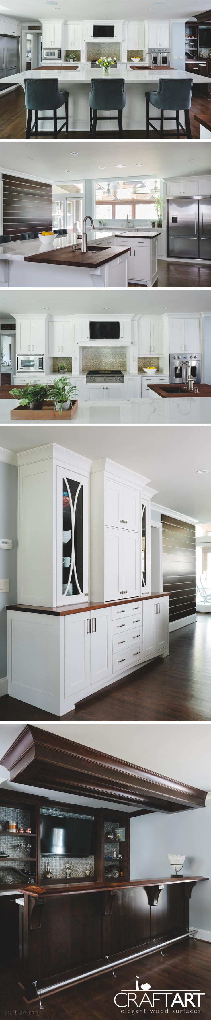 Stunning Craft-Art Kitchen! | BLACK WALNUT by Craft-Art | Pinterest ...