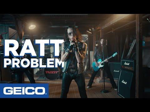 Ratt Problem GEICO Insurance YouTube in 2020 Geico