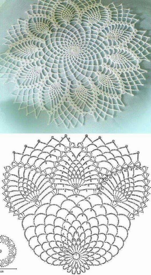 Pin by gaia fromcy on crochet doily pattern | Pinterest | Crochet ...