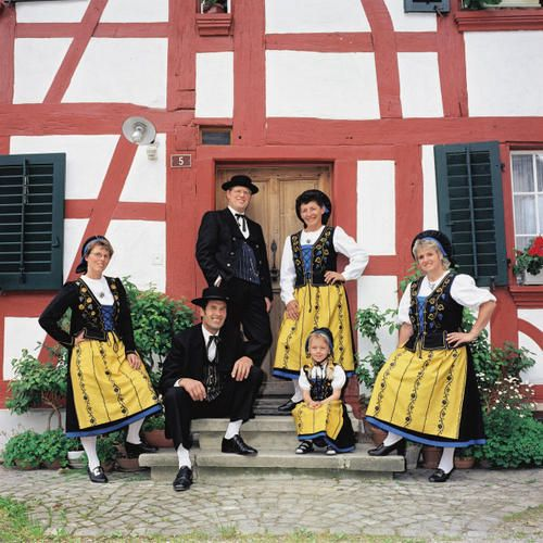 Zurich Wineland Tradition Festival Costume