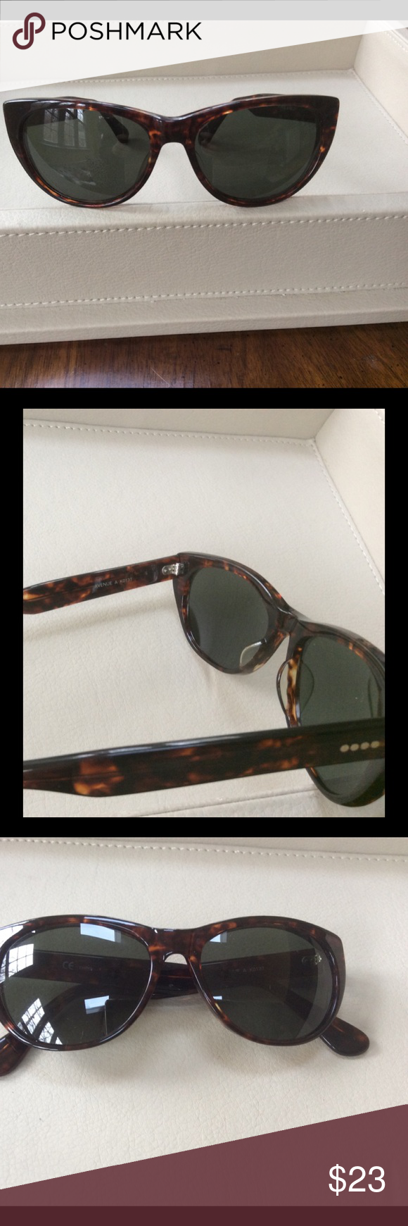 f8a43c3b7814 Timeless DKNY Donna Karan New York sunglasses Classic DKNY tortoise shell  honey color sunglasses in excellent used condition. Model Avenue A K0137.