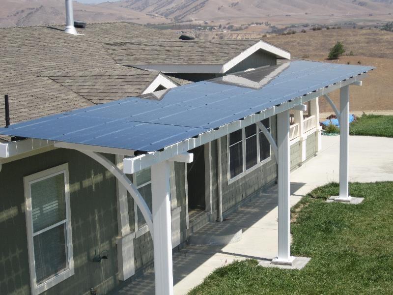 Covered Patios · Solar Panels · Pergola Carport · Lumos Solar | Spotlights  | Function Meet Grace With LSX Modules In Templeton, CA