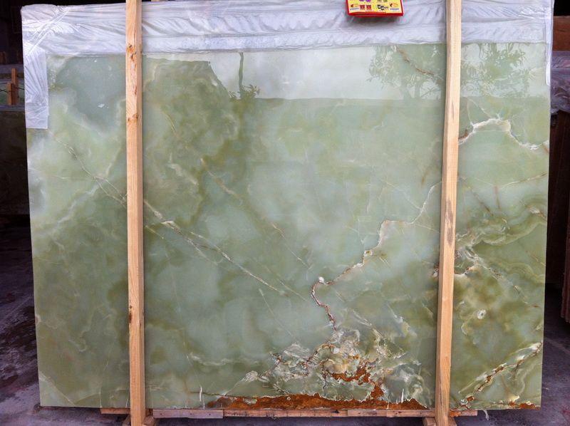 Afghan Green Onyx Marble Slab Mosaic Countertop Jpg 800 598