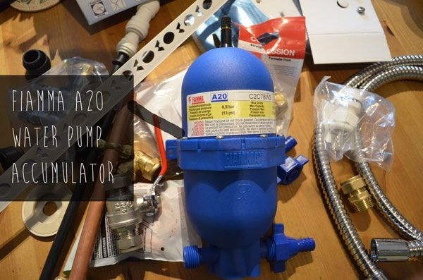Installing Water System In My Campervan Conversion This Covers The Fresh Tank Pump And