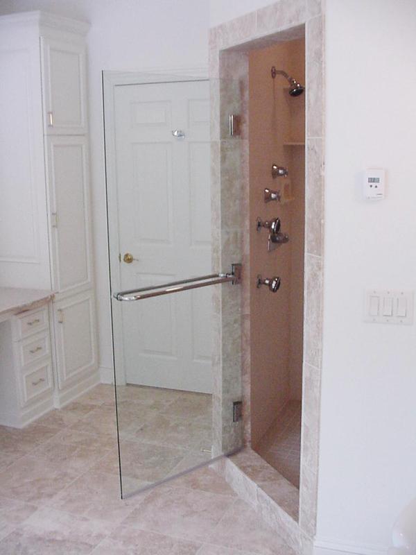 Frameless Gl Shower Door With Towel Bar On Both Sides Http