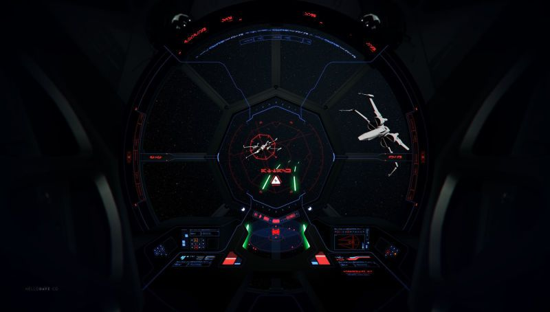 Giving A TIE Fighter A Firmware Update Tie fighter, Star