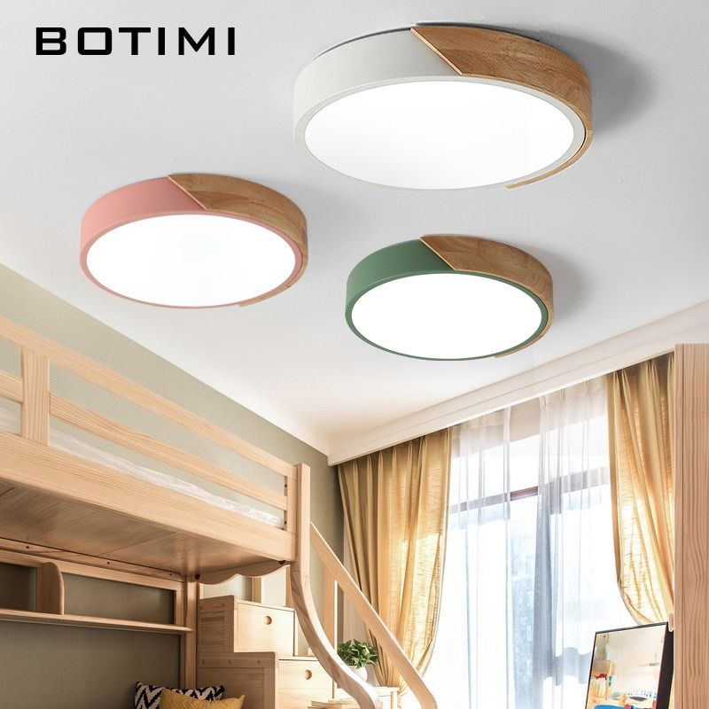 Botimi 新着 Led シーリングライトカラフルな天井ランプ廊下色子供
