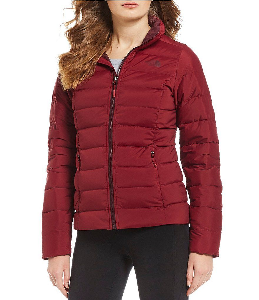 3b15f0fa41 The North Face Mountain Sports Stretch Down Zip Front Puffer Jacket Mountain