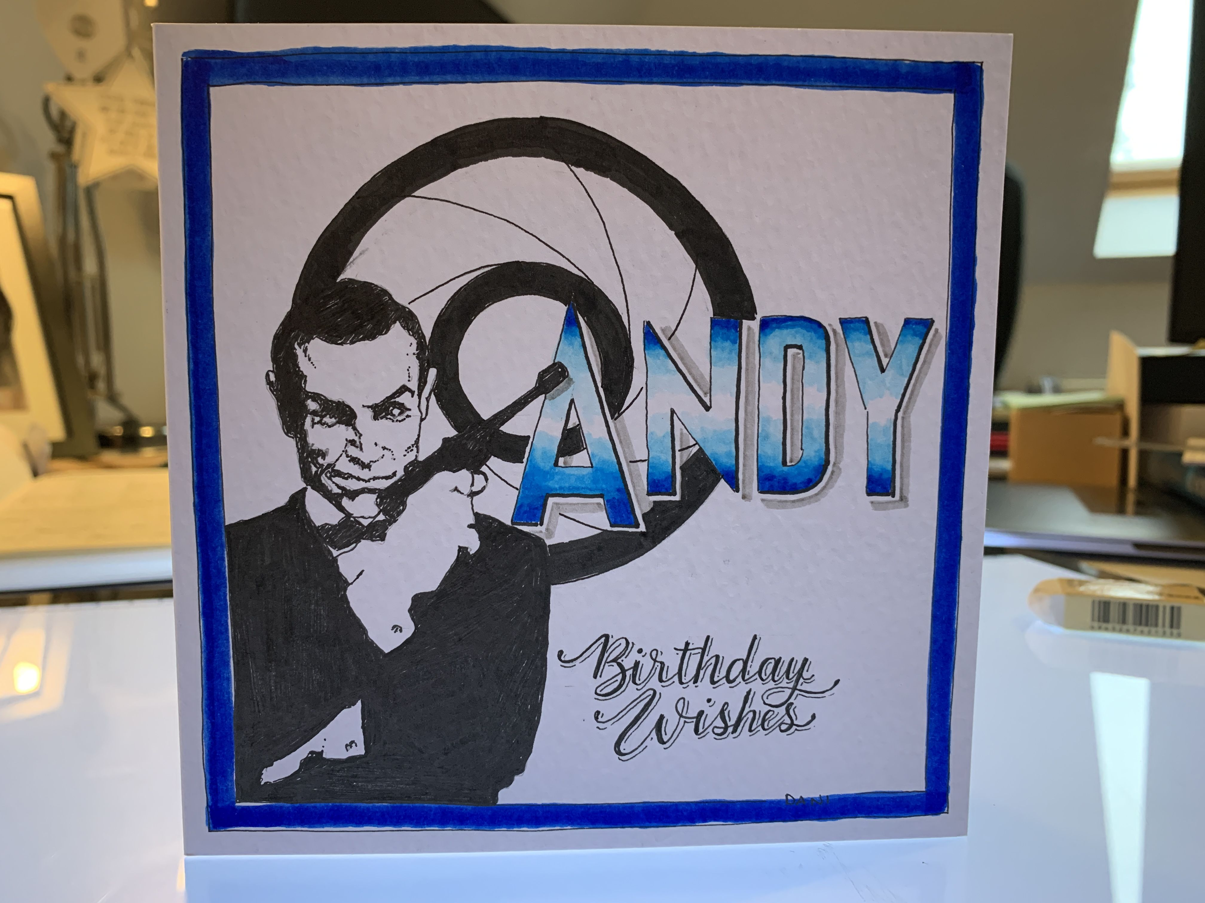 Birthday Card Inspired James Bond 007 Birthday Cards How To Memorize Things Inspired Talks