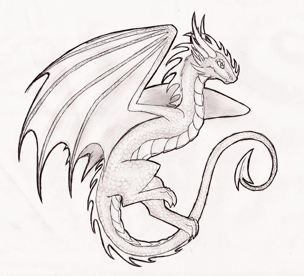 недавних картинки драконы простым карандашом очень важно вторую