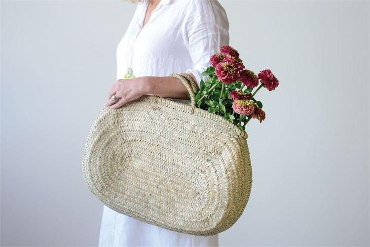Hand Woven Jerada Oval Bag W Handle Oval Bag Bags Market Tote