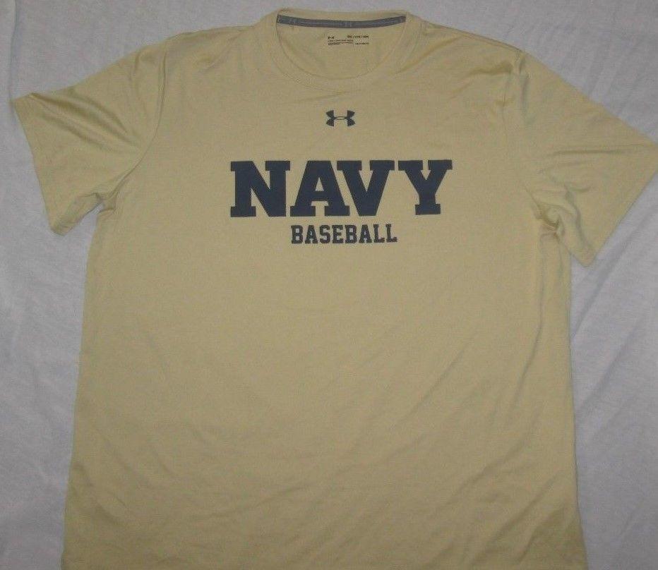 Under Armour HeatGear Long Sleeve Shirt NCAA Maryland Logo White//Gray NWT