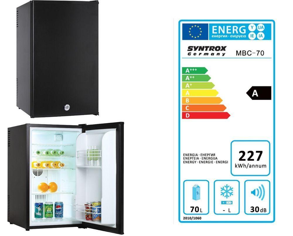 Details zu Minikühlschrank SYNTROX MBC-70, Hotelkühlschrank, Minibar ...