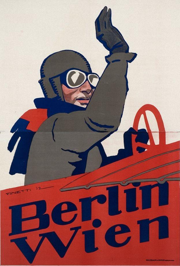 Gino von Finetti, Poster, 1912.