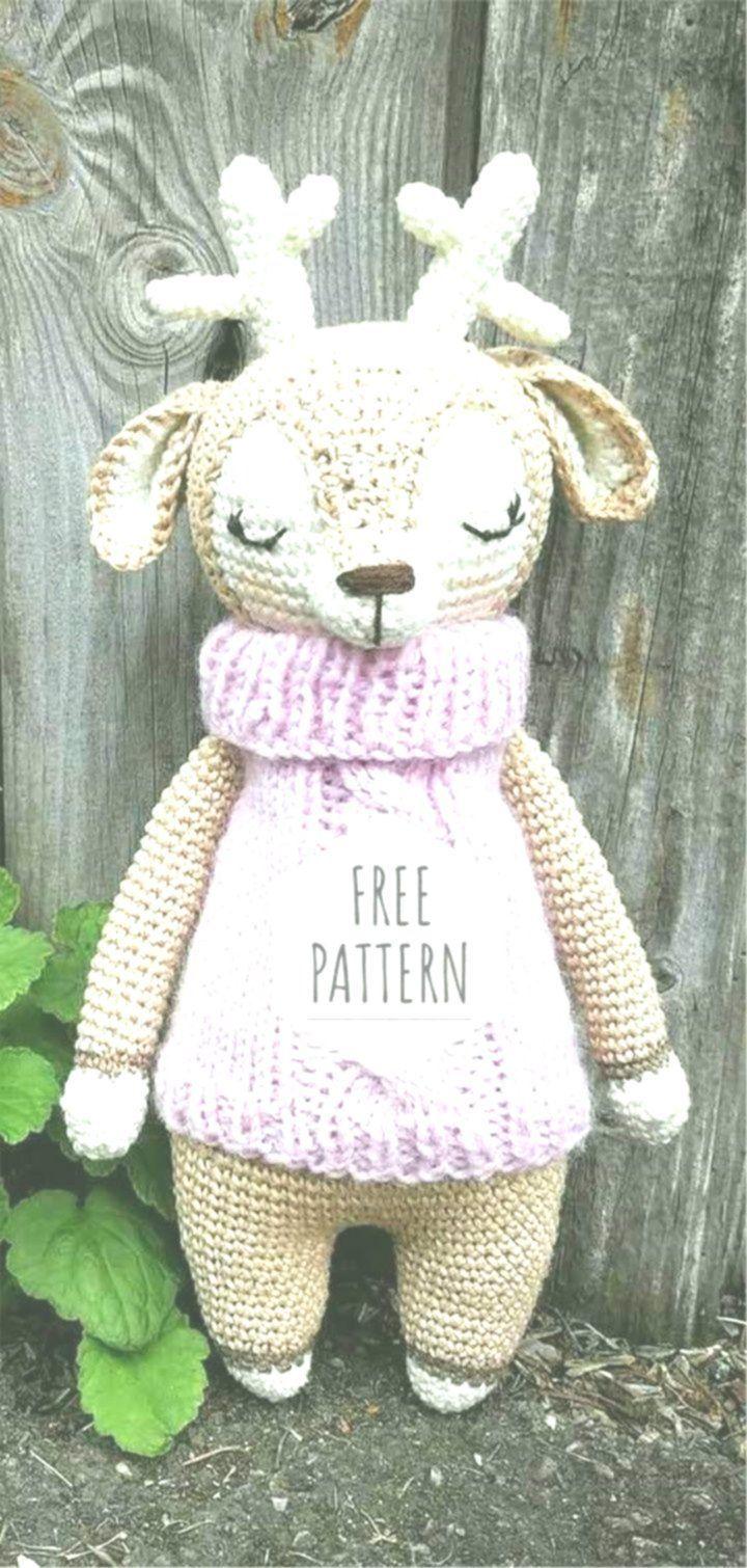 Great Images crochet amigurumi deer Concepts Amigurumi Deer Free Pattern  Amigurumi Deer F