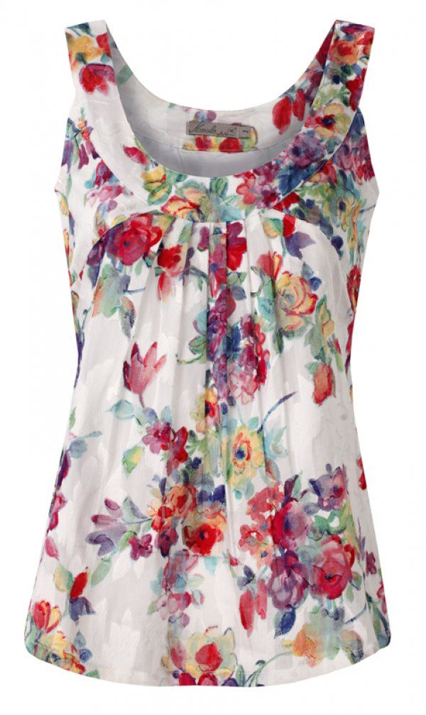 Floral Print Top 'Oasis' by Komodo, €75