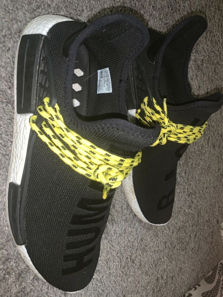 Adidas Pharrell x NMD Human Race Black