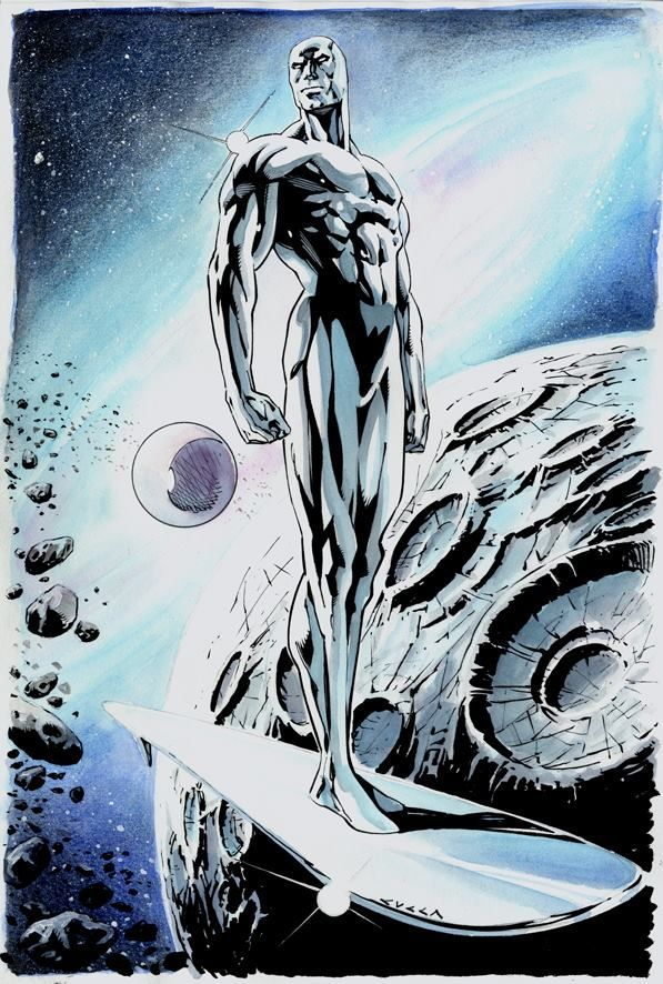 Silver Surfer by Vincenzo Cucca Silver Surfer by Vincenzo Cucca
