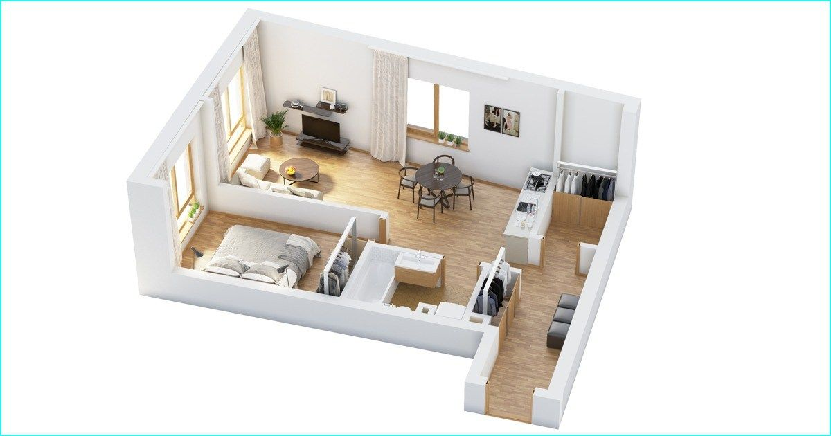 44 Cozy Extra Small Studio Apartment Ideas Truehome House Floor Plans Floor Plan Design Small House Layout