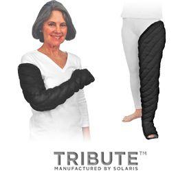 1c2d92776b Tribute custom lymphedema garments | leg wraps | Lymphatic system ...