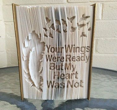 cut and fold book art patterns free