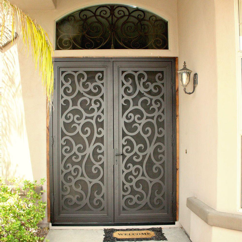 Baroque High Definition (HD) Security Screen Door