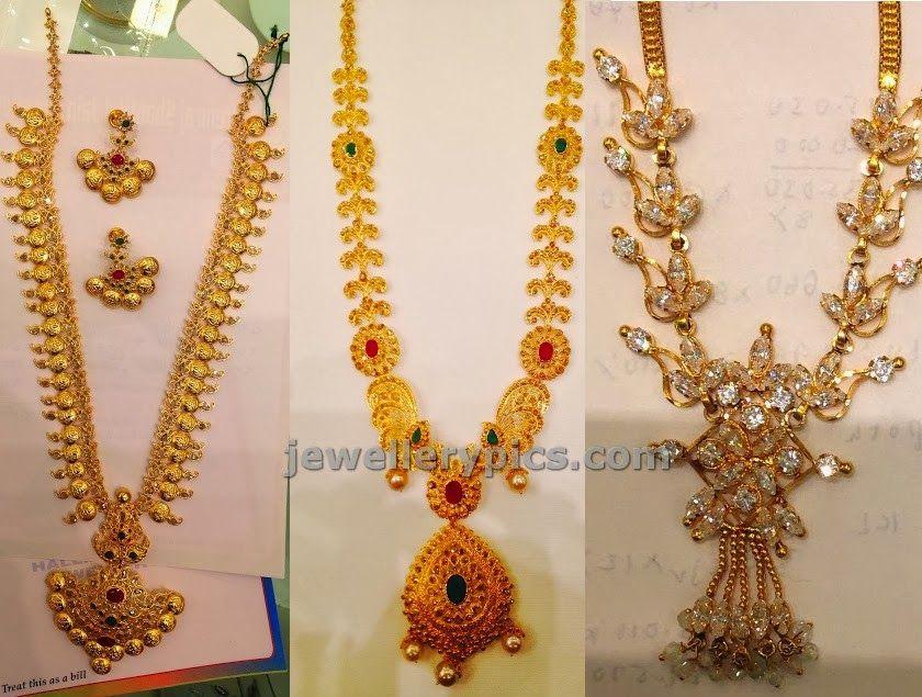 3 impressive gold haram designs in PSJ secundrabad - Latest ...