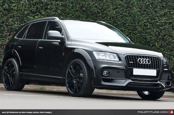 Build Audi Q5 >> Nice Audi 2017 Kahn Design Builds Black Q5 Wide Track Fourtitude