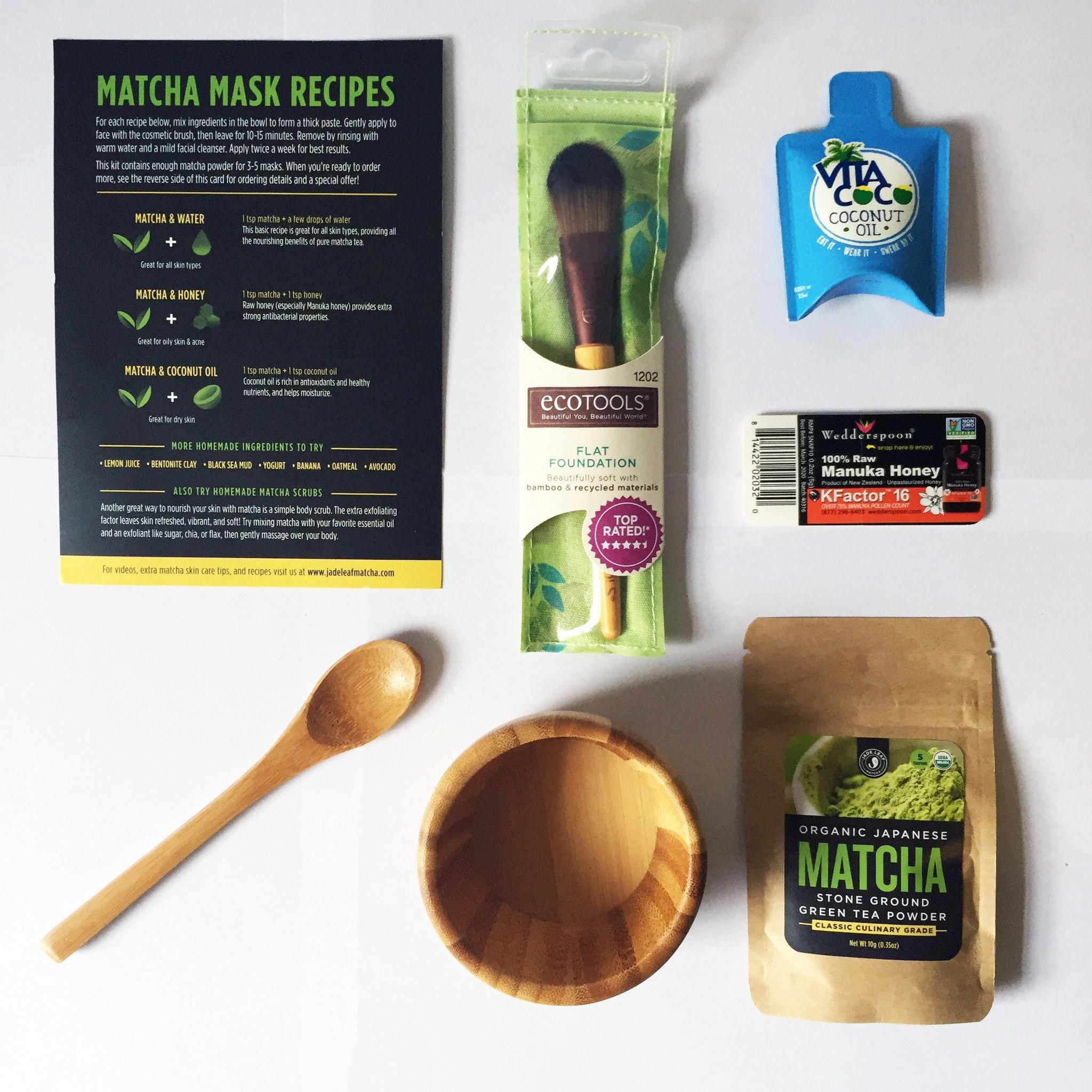Photo of Matcha Green Tea Face Mask DIY Starter Kit #HowToMakeGreenTeaMask