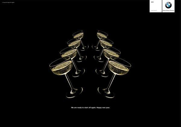 20 Most Creative New Year Advertisements 1 Design Per Day Viral Marketing Advertising How To Memorize Things