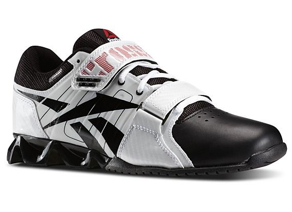 Reebok- Women's Reebok CrossFit Lifter Plus Shoes White/Black/Excellentred/ Ironstone