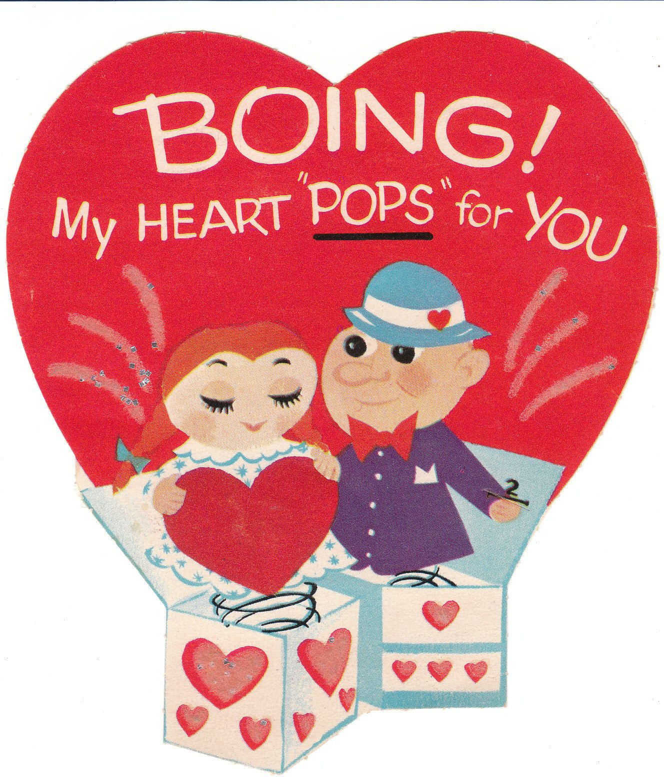 I Love These Cute Cut Baby Boomer Vintage Valentine Cards For Children So Much