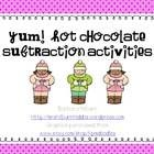 Help your little ones learn subtraction this winter in a fun and engaging way!  This actiivity download includes an original poem, subtraction math...