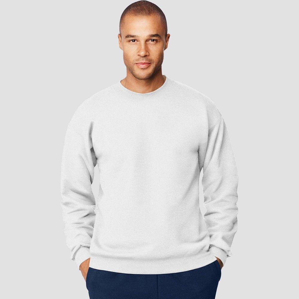 Hanes Men S Big Tall Ultimate Cotton Sweatshirt White 3xl Cotton Sweatshirts Basic Sweatshirt White Sweatshirt [ 1000 x 1000 Pixel ]