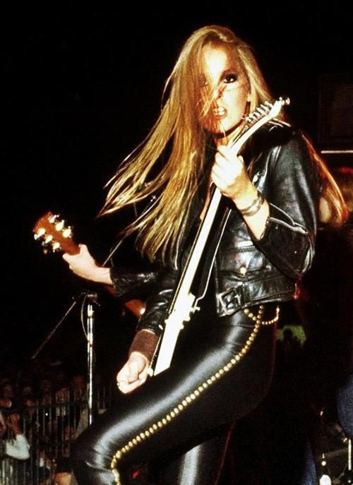Lita Ford The Runaways  Love Of My Life In Color In -1256