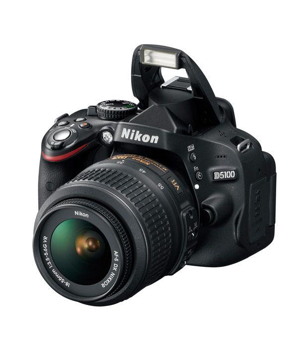 Nikon D5100 (Black) DSLR - Outdoor Travel Gear