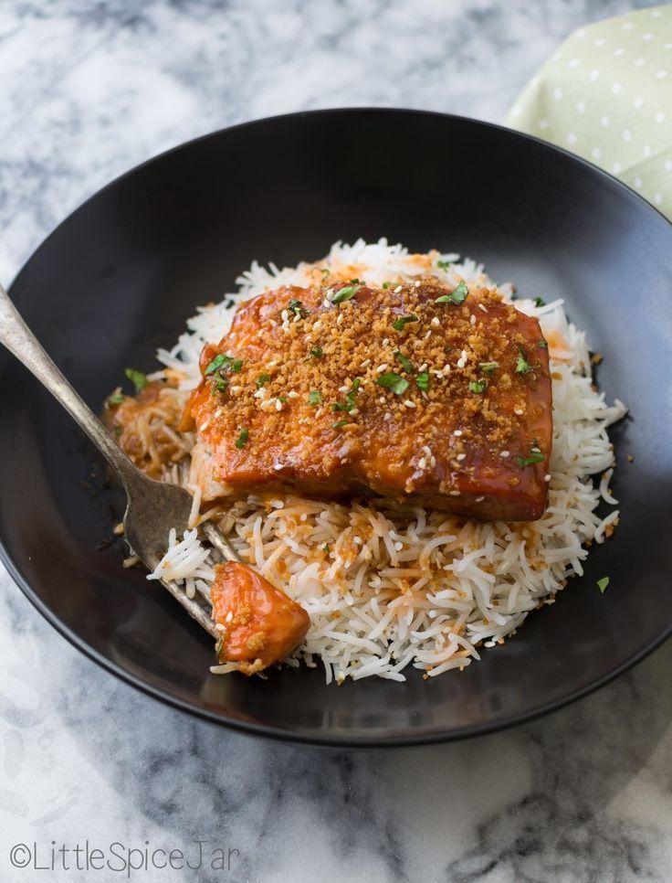 Teriyaki salmon with sriracha sauce #teriyakisalmon Teriyaki salmon with sriracha sauce,  #Salmon #sauce #Sriracha #teriyaki #teriyakisalmon Teriyaki salmon with sriracha sauce #teriyakisalmon Teriyaki salmon with sriracha sauce,  #Salmon #sauce #Sriracha #teriyaki #teriyakisalmon