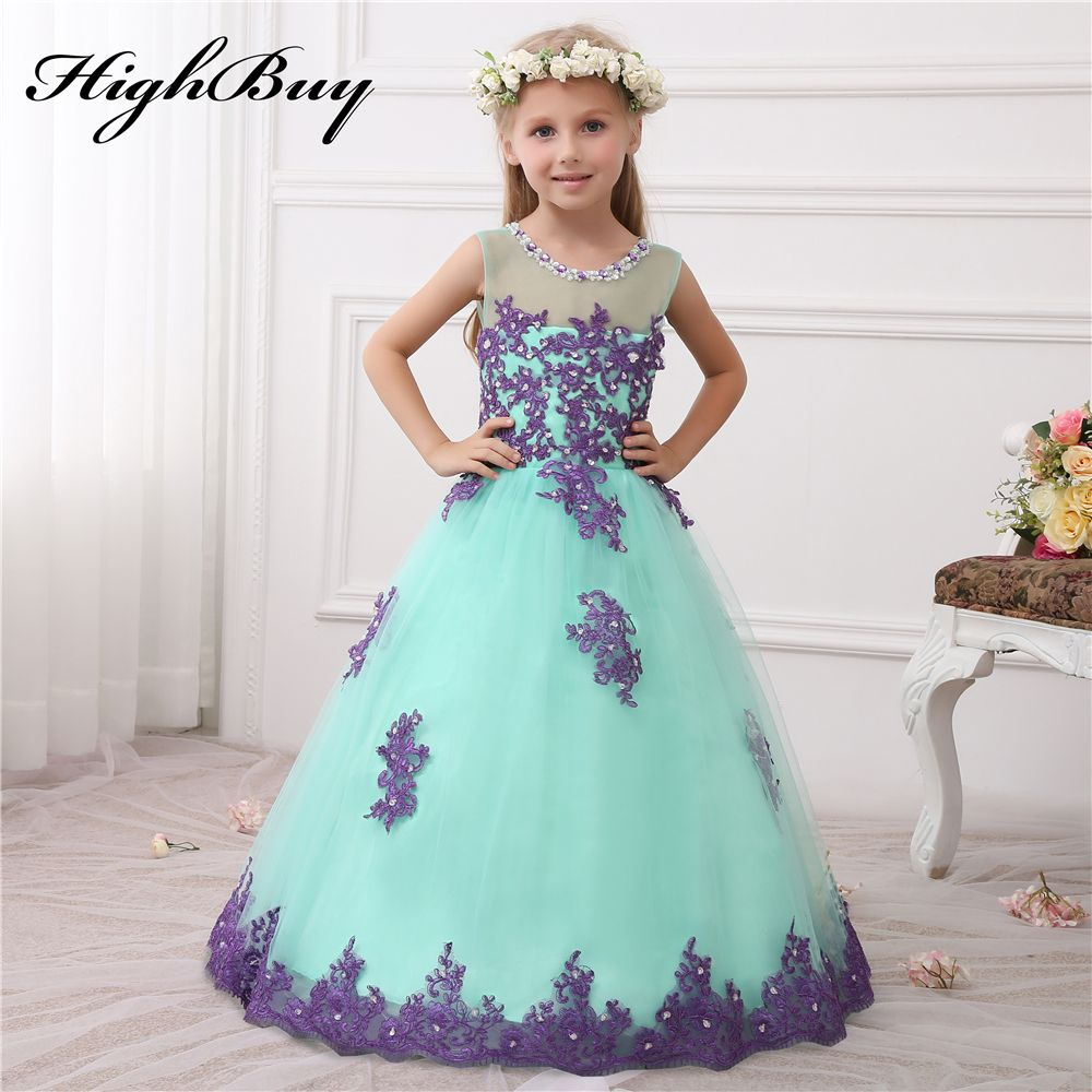 Click to buy ucuc highbuy princess lace appliques beads flower