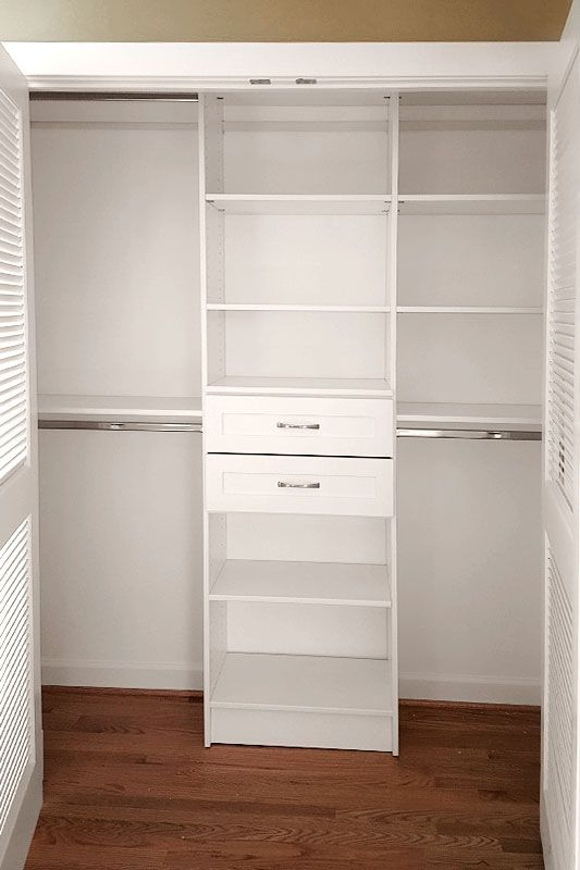 Make the most of your reach in closets with closet organizers from