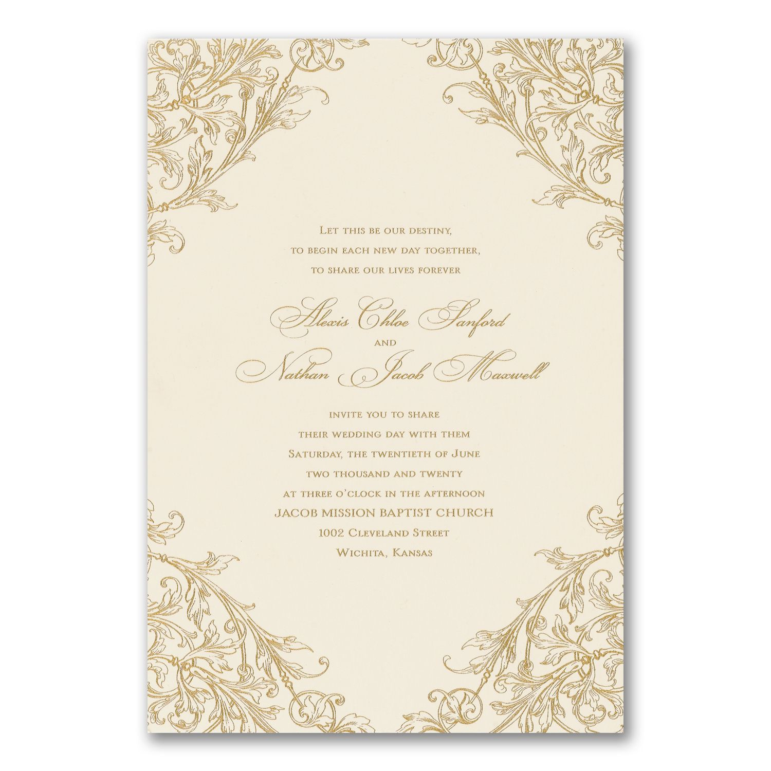 Old Fashion Love - Invitation. Available at Persnickety Invitation ...