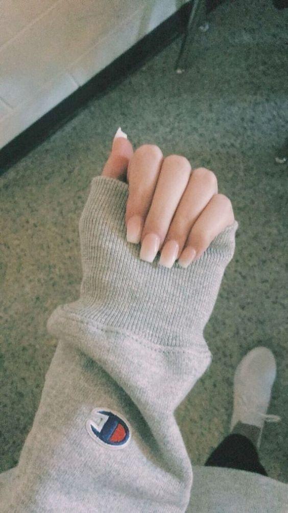 64 Awesome Winter Nail Art Design for Women Elegant - Beauty Ideas