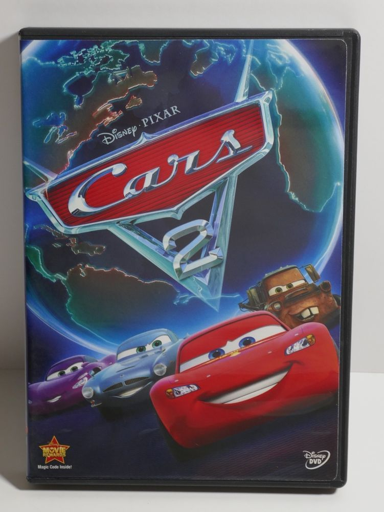 Disney Pixar Cars 2 Dvd 2011 Disney Disney Pixar Cars