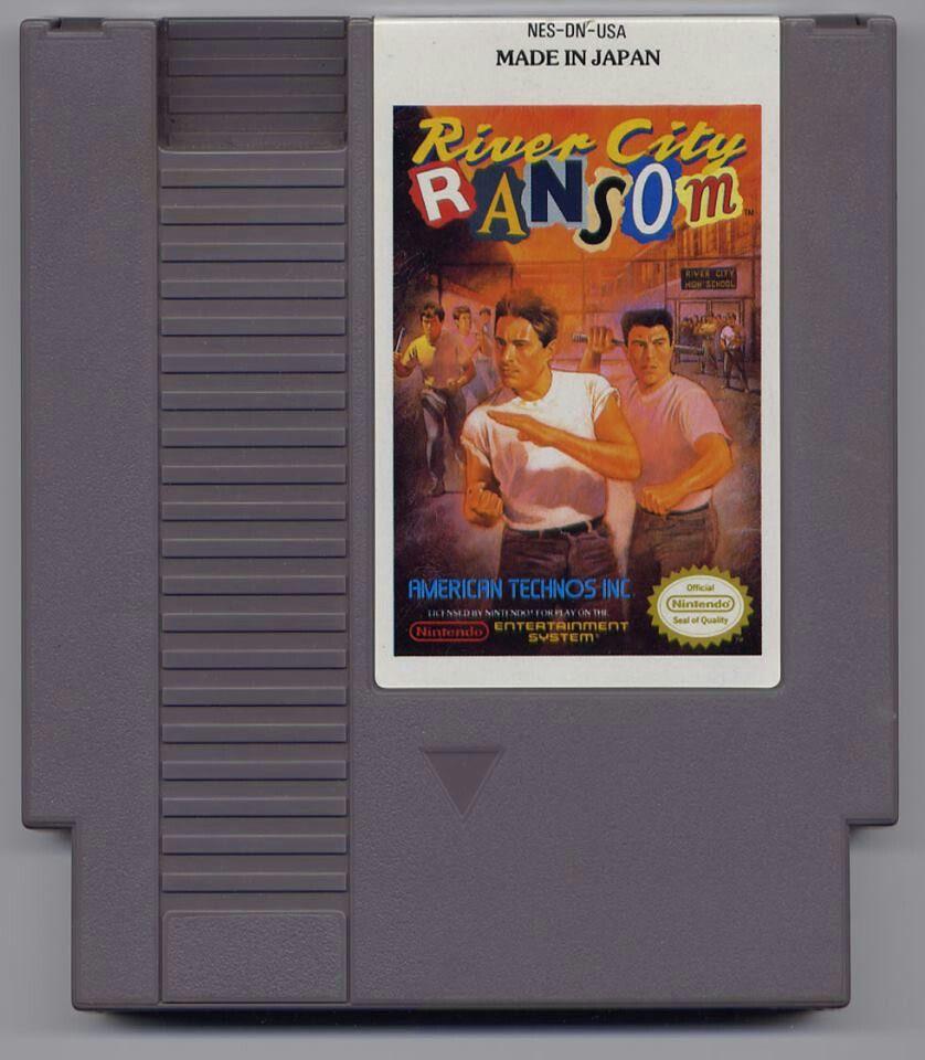 River City Ransom Ransom Nintendo Nes